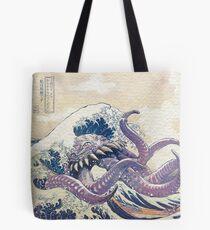 The Great Ultros Off Kanagawa Tote Bag