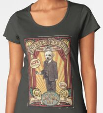 LeRoy the Dog-Face Boy: Antique Sideshow Flyer Women's Premium T-Shirt