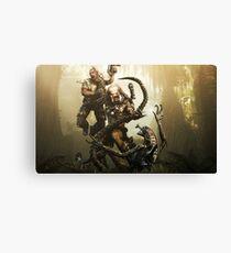 Aliens Vs Predator Canvas Print