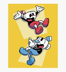Cuphead brothers Photographic Print