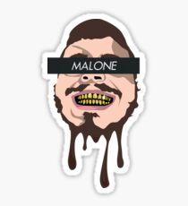 Post Malone Melting Graphic Sticker