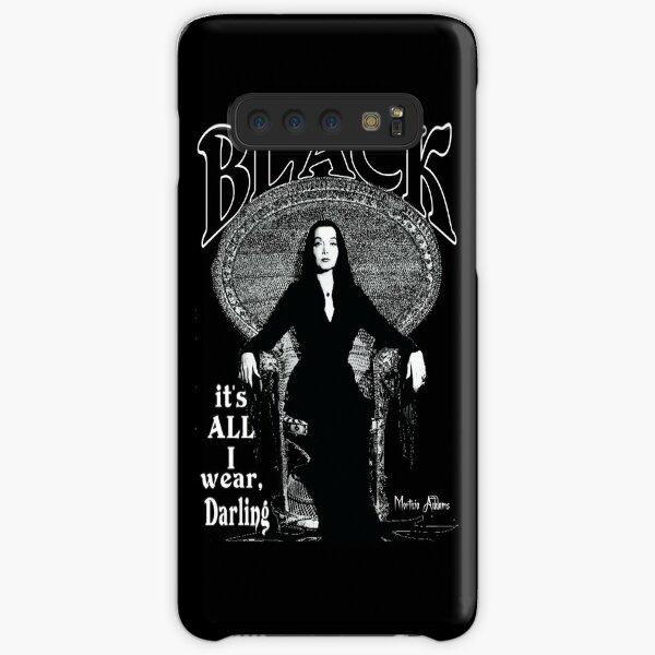 """BLACK- It's All I Wear""- Morticia Addams Samsung Galaxy Snap Case"