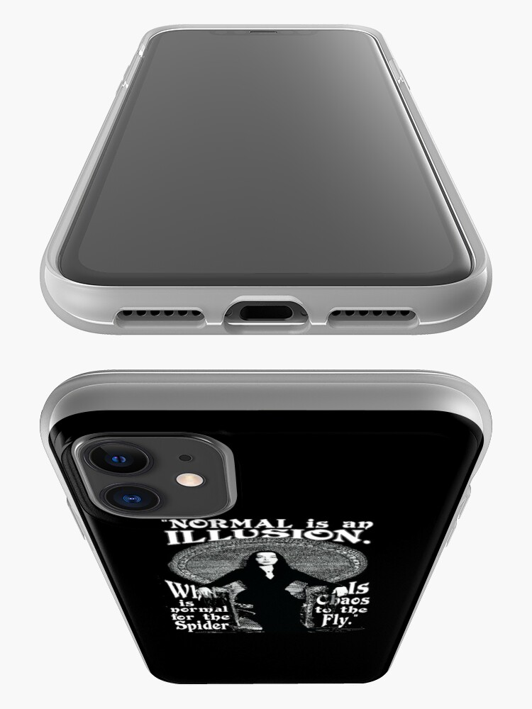 """Alternate view of Morticia Addams-""""Normal Is An Illusion..."""" iPhone Case & Cover"""