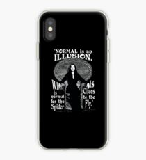 "Morticia Addams - ""Normal ist eine Illusion ..."" iPhone-Hülle & Cover"