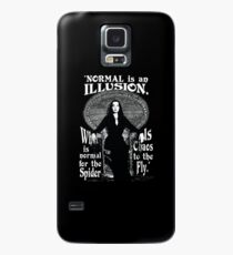 "Morticia Addams-""Normal Is An Illusion..."" Case/Skin for Samsung Galaxy"