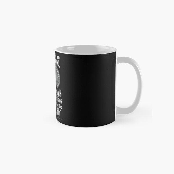 "Morticia Addams-""Normal Is An Illusion..."" Classic Mug"