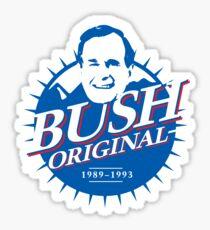 Bush Original - Funny Trump Sayings Beer Graphic Sticker
