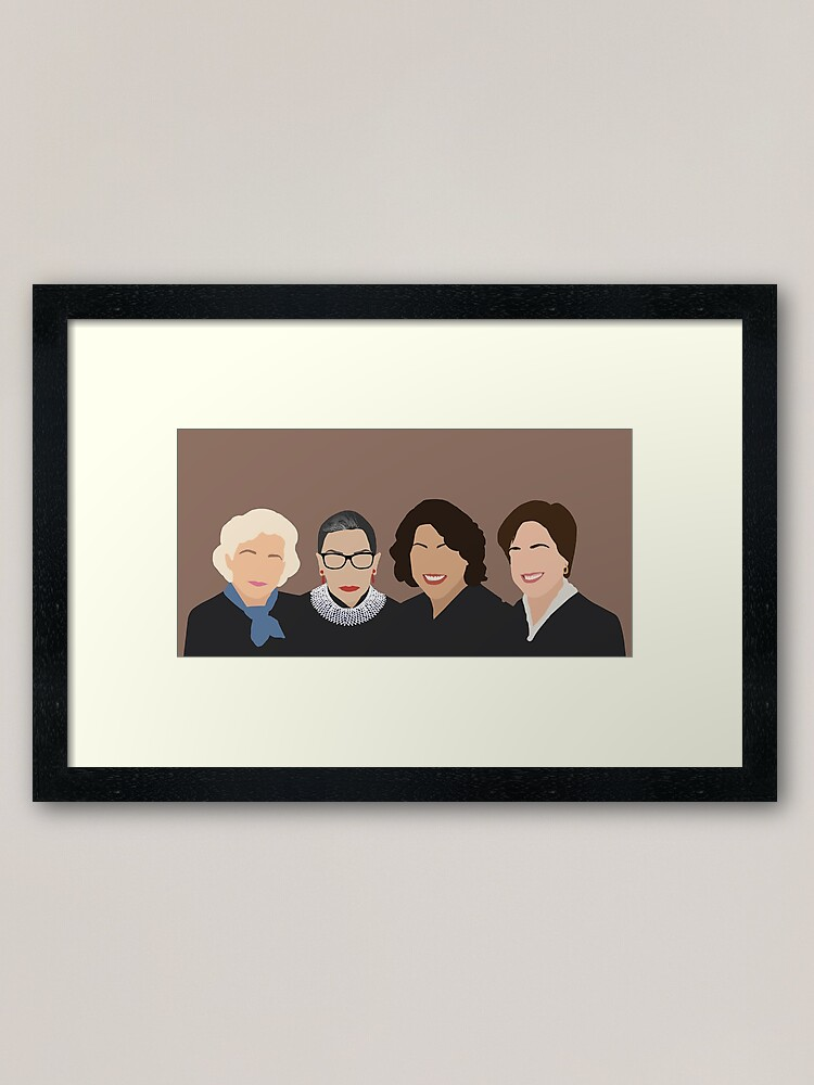 Alternate view of The Supremes Framed Art Print
