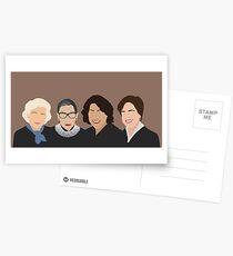 The Supremes Postcards