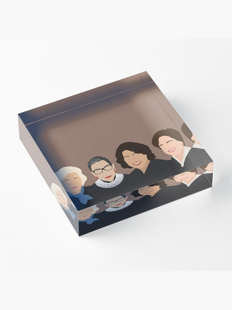 Alternate view of The Supremes Acrylic Block