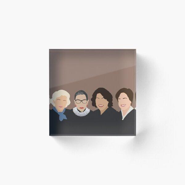 The Supremes Acrylic Block