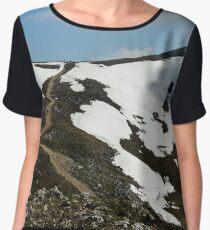 landscape Chiffon Top