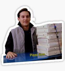 Pizza Time Sticker