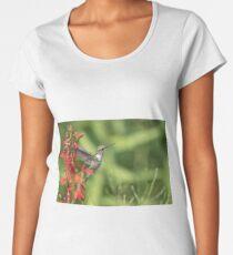 Ruby Throated Hummingbird 2017-4 Women's Premium T-Shirt