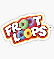 Froot Loops logo Sticker