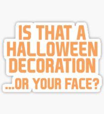 Halloween Decoration Sticker