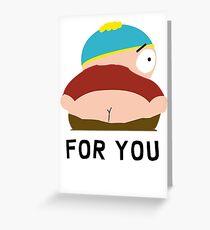 SOUTH PARK ERIC CARTMAN Greeting Card