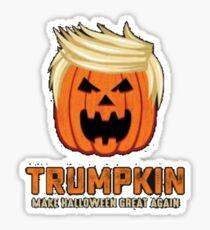 Trumpkin - Make Halloween Great Again! Sticker