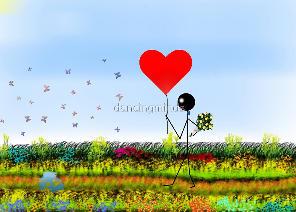 stick-man in love by dancingminds