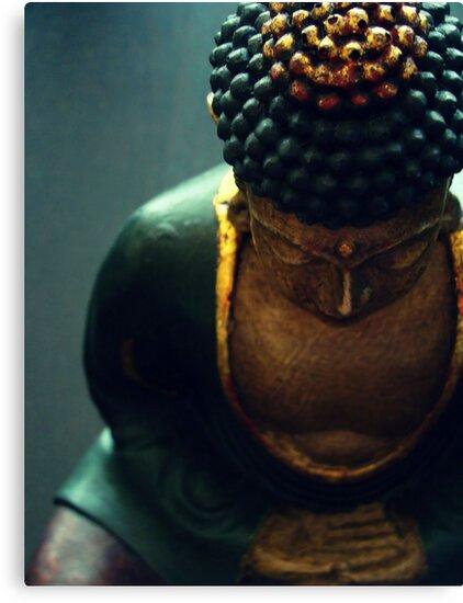 Buddha by Caroline Fournier