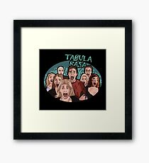TABULA RASA [BTVS] Framed Print