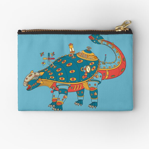 Dinosaur, from the AlphaPod collection Zipper Pouch