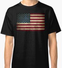 Camiseta clásica Bandera estadounidense