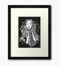 The Klimt Series: Esmeralda's Wonder Framed Print