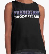Providence, Rhode Island Skyline Contrast Tank
