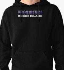 Providence, Rhode Island Skyline Pullover Hoodie
