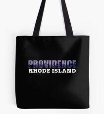 Providence, Rhode Island Skyline Tote Bag
