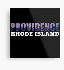 Providence, Rhode Island Skyline Metal Print