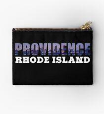 Providence, Rhode Island Skyline Studio Pouch