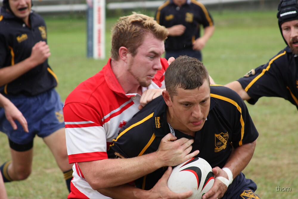 Rugby 1 by thorn