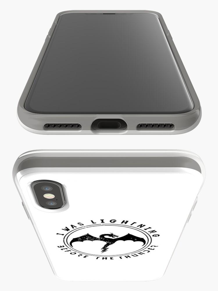 Vista alternativa de Funda y vinilo para iPhone Imagine Dragons Thunder