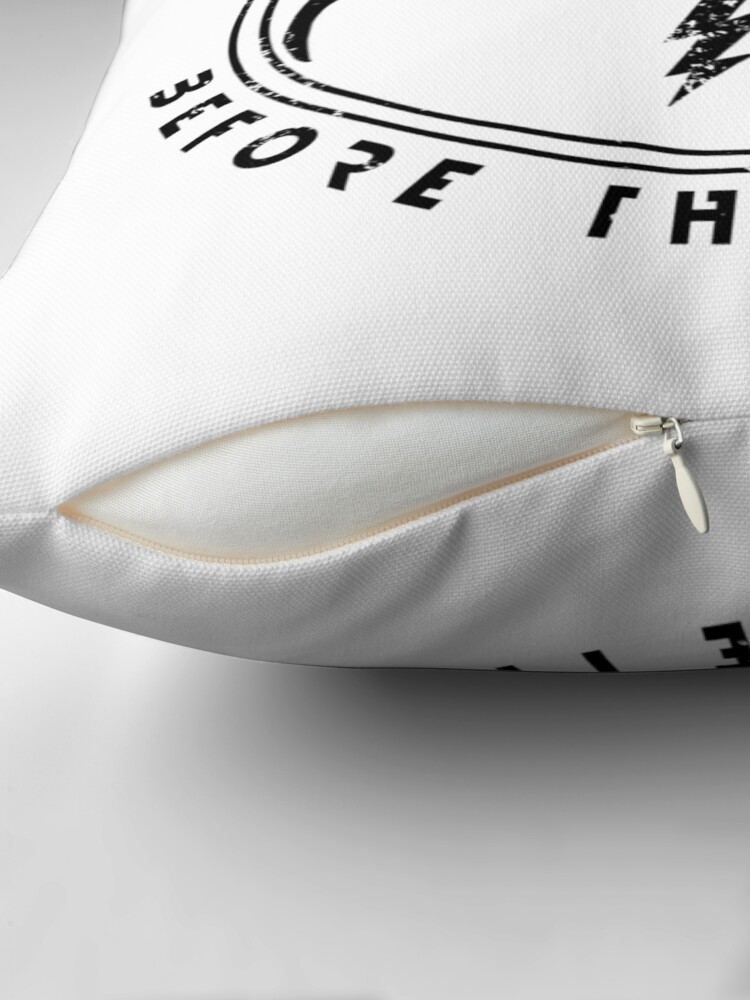 Alternate view of Imagine Dragons Thunder Throw Pillow