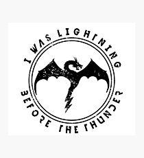 Imagine Dragons Thunder Photographic Print