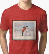 Confession to the snowman Tri-blend T-Shirt