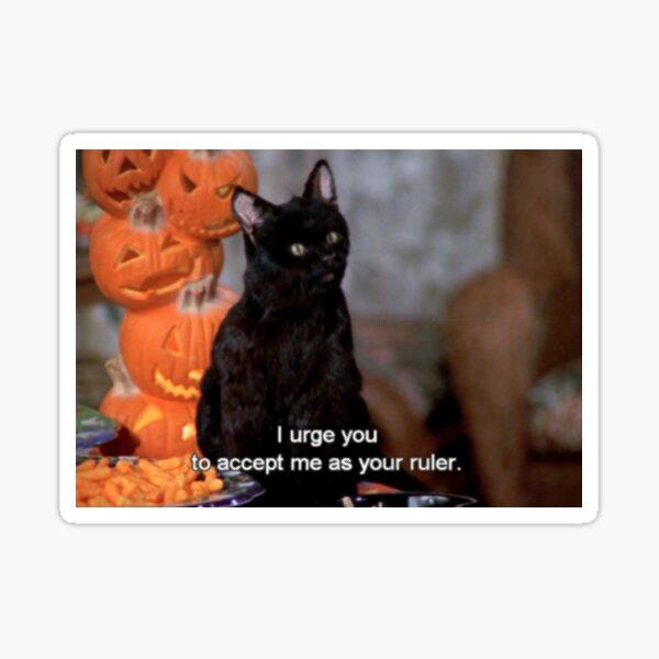 Salem | Accept Me As Your Ruler Sticker