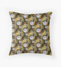 Forest Daisies  Floor Pillow