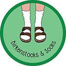 Birkenstocks And Socks by zlapr