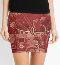 crown Mini Skirt