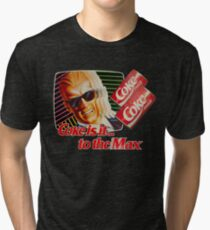 Max Headroom 80s Coke Ad Tri-blend T-Shirt
