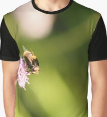 Bee on a flower Graphic T-Shirt