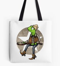 nothing haults this frog Tote Bag