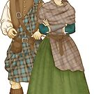 Jamie and Claire by Griffindiary