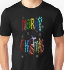 A Colorful Merry Christmas T-Shirt