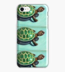 Wind Up Turtle Toy Painting iPhone Case/Skin