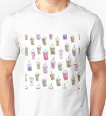 Coffee Cup Party in Marshmallow T-Shirt