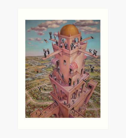 Tower of Babbit Art Print